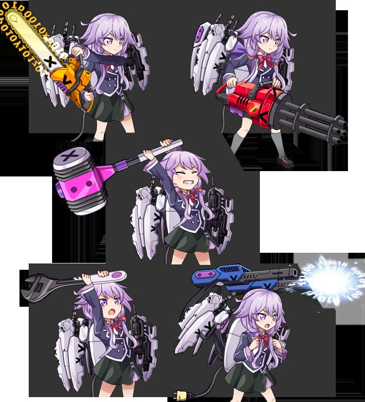 武器5種画像